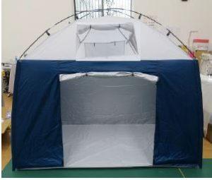 避難所用プライベートルームテント
