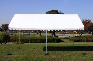イベントテント 1.5x2間 標準天幕 1.8m