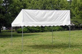 片流れテント