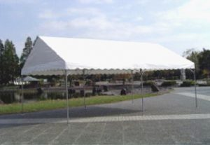 中折式テント