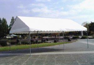 中折れ式テント 2間×3間