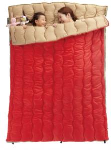 2in1・Wサイズ丸洗い寝袋・0